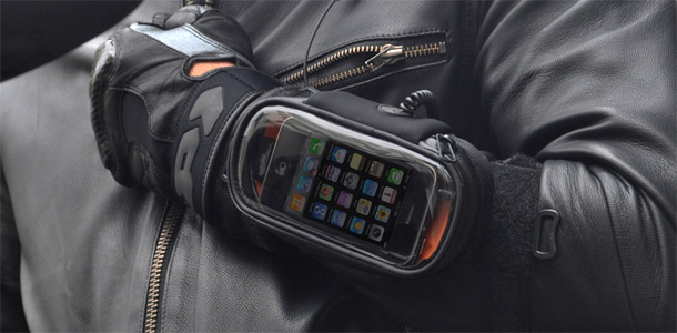 iBike Rider (iPhone op je motor)