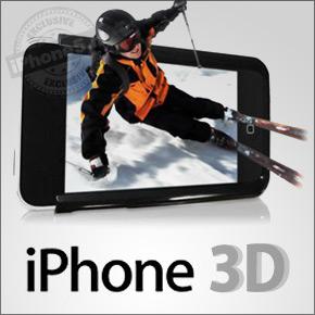 3D scherm in nieuwe iPhone?