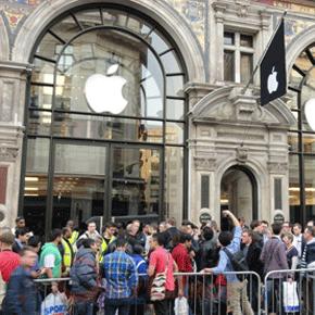Eerste fan gaat al in de rij liggen voor de iPhone 5