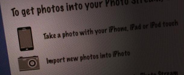 iPhone 5 icoon in Photo Stream