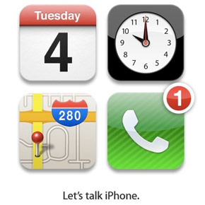 Uitnodiging Apple Event 4 oktober: Let's Talk iPhone