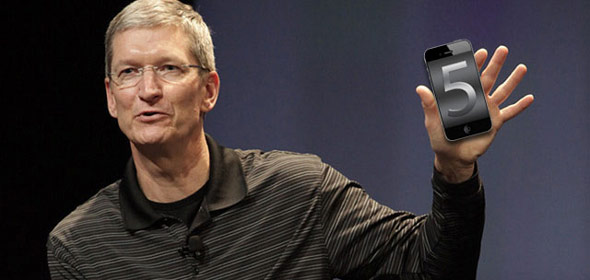 Tim Cook presenteert iPhone 5