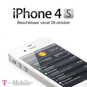 iPhone 4S prijs bij T-Mobile bekend
