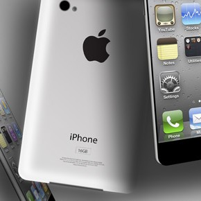 iPhone 5 mockup visualiseert geruchten