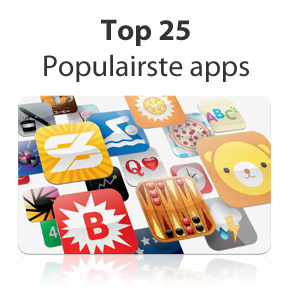 25 meest gedownloade iPhone apps ooit