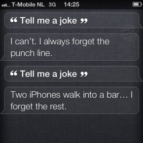 Siri: Tell me a joke
