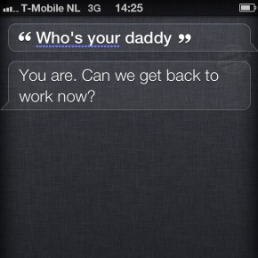 Siri: Who's your daddy