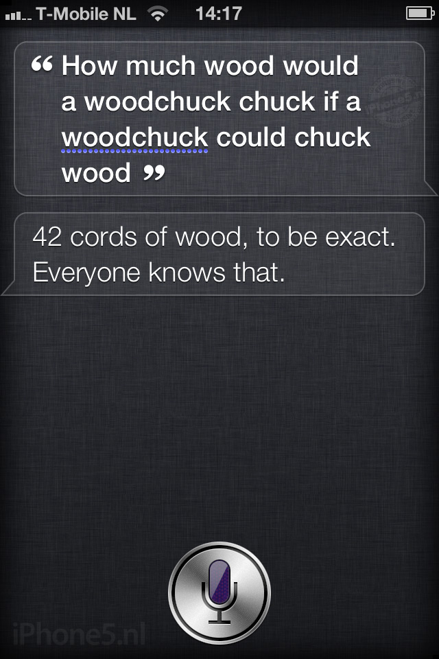 how to find siri on iphone 5