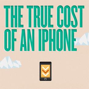 De echte kosten van een iPhone [infographic]