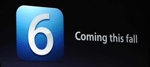 iOS 6: Coming this fall