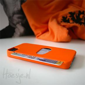 Uniek oranje iPhone hoesje: nu met korting