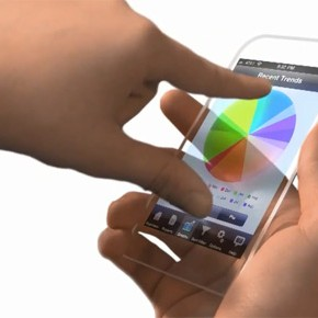 iPhone 5 commercial (transparant concept)