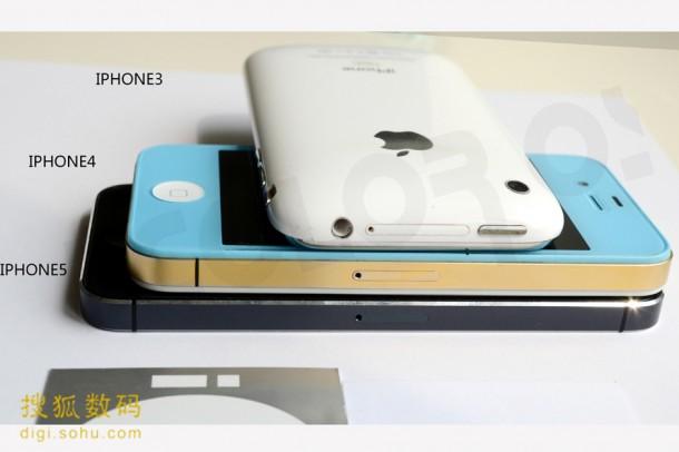 Verschil iPhone 3, 4 en 5