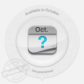 Beschikbaar niet voor oktober: 11% kans