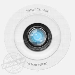 Betere camera: 55% kans