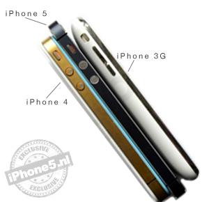 iPhone 5 vergeleken met iPhone 4 en 3G (foto's)