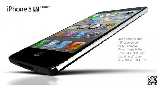 iPhone 5 Liquid Metal Concept (NAK)