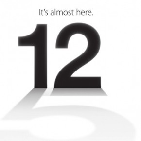 12 September iPhone 5 Event