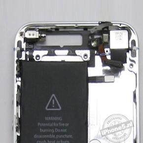 Foto's tonen grotere batterij in iPhone 5