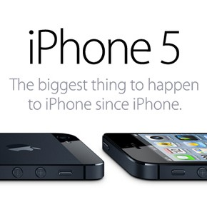 Apple heeft iPhone 5 gepresenteerd