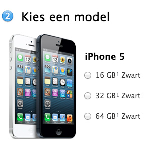 Tip: reserveer je iPhone 5 in de Apple Store