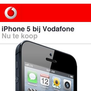 iPhone 5 nu ook bij Vodafone