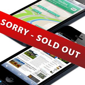 iPhone 5 alweer uitverkocht