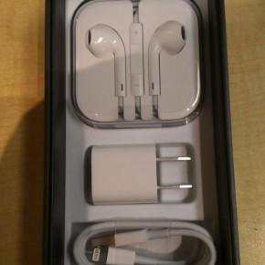 iPhone 5 unboxing - binnenzijde zwarte versie
