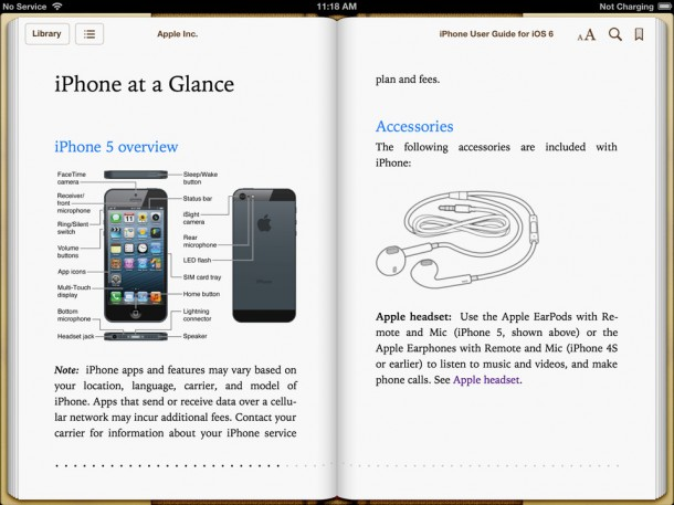 iPhone 5 User Guide For iOS 6 Software
