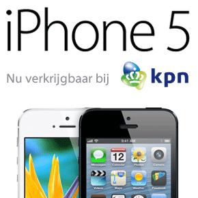 iPhone 5 nu ook bij KPN