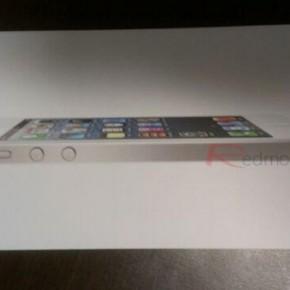 iPhone 5 unboxing - box witte versie