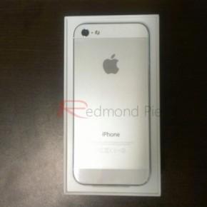 iPhone 5 unboxing - witte versie (achterkant)