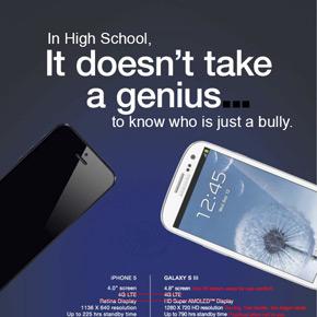 Apple fanboys slaan terug tegen Samsung