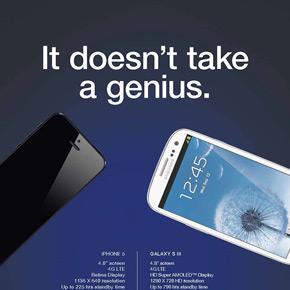 Samsung opent aanval op iPhone 5 met nieuwe ad (en Nokia tweet zelfde slogan)