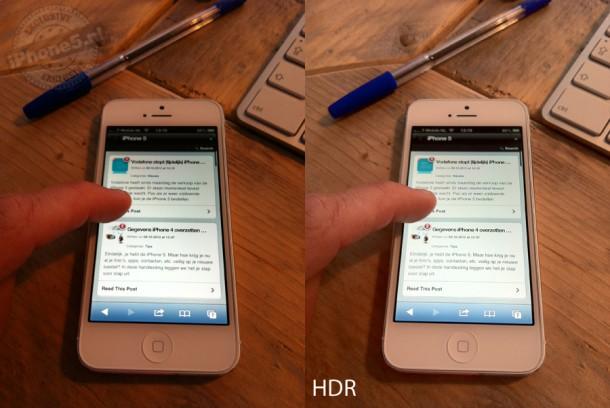HDR verschillen