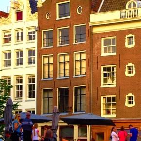 iPhone 5 Wallpaper (steden): Amsterdam