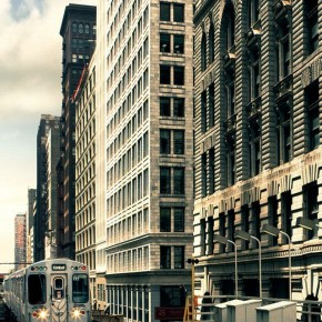 iPhone 5 Wallpaper (steden): citytrain