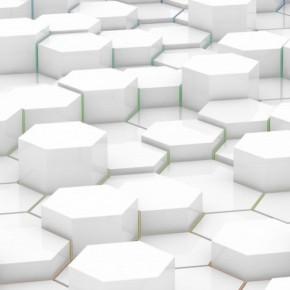 iPhone 5 Wallpaper: hexagons