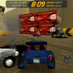 Carmageddon voor iOS - screenshot 3