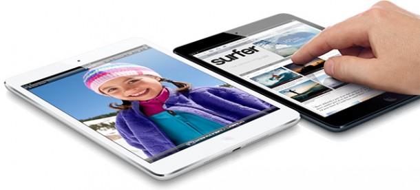 iPad Mini (wit+zwart)