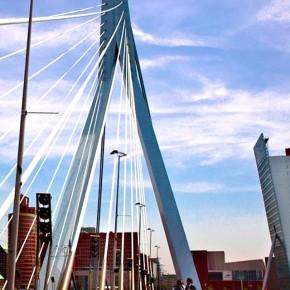 iPhone 5 Wallpaper (steden): Rotterdam