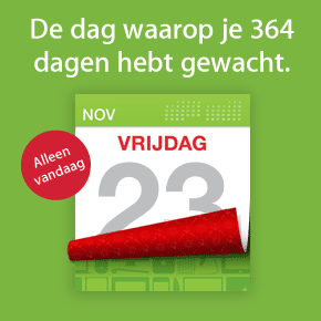 Black Friday 2012: apps in de aanbieding