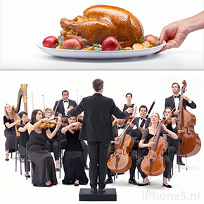 Nieuwe iPhone 5 ads: Orchestra en Turkey