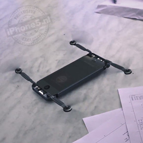 iPhone 5 verandert in een drone [video]