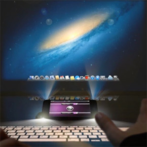 Geheime functionaliteit in iPhone 5: dubbele projector