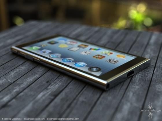 iPhone 6 concept - schuin boven 2
