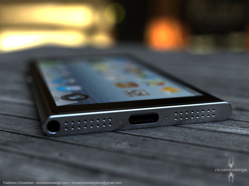 iPhone 6 concept - onderkant