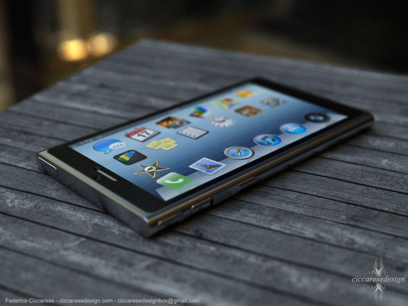 iPhone 6 concept - schuin boven
