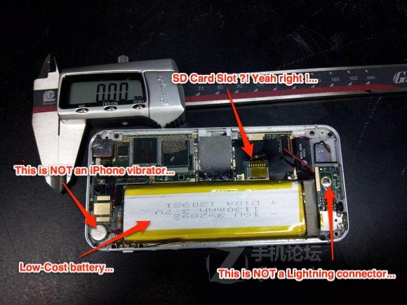 Namaak iPhone 5