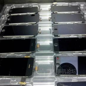 Zwarte iPhones in productie